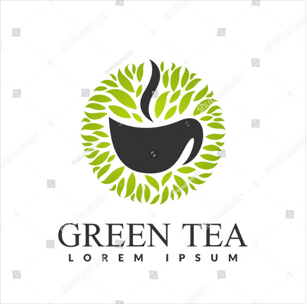 Green Tea Herbal Logo