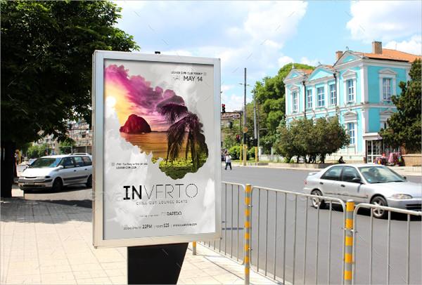 Grunge Music Advertisement Poster Template