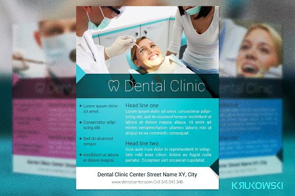 Best Dental Clinic Flyer Template