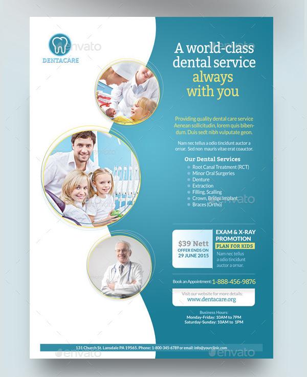 Dental or Healthcare Flyer Templates