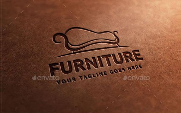 Cool Furniture Business Logo Template