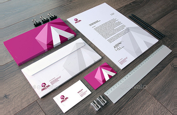 Home & Office Stationery Mockups