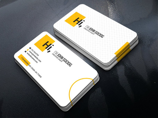 Hotel Chef Business Card Template