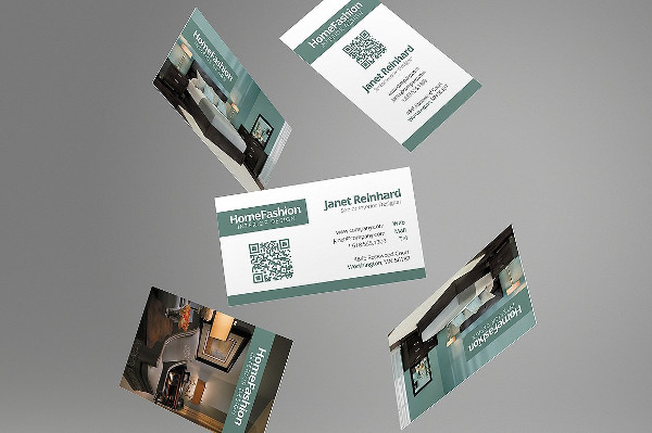 Furniture Business Card Templates PSD