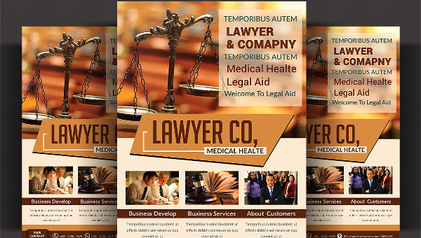 21+ Law Firm Flyers