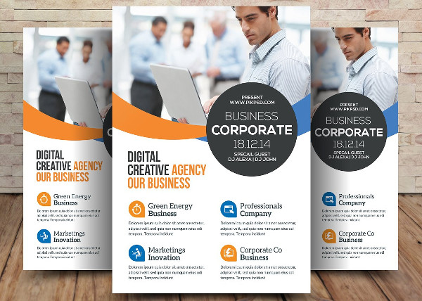 Law Firm & Lawyer Flyer Template