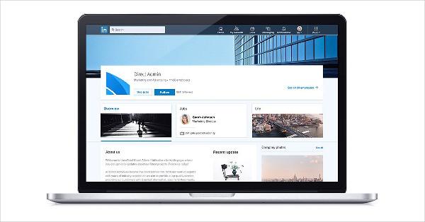 Linkedin Social Media Template Pack
