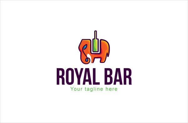 Logo Template for Drinking Hubs & Restaurant