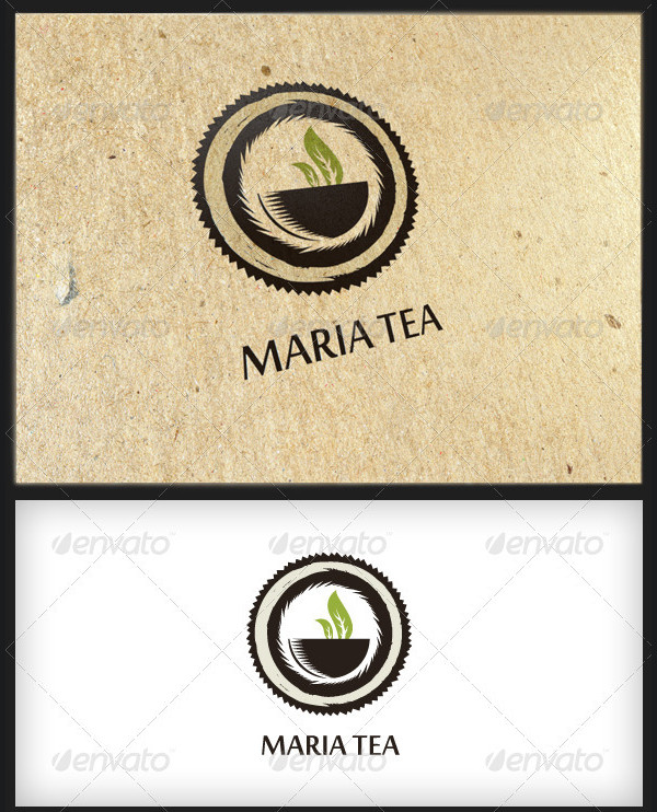 Maria Tea - Logo Template
