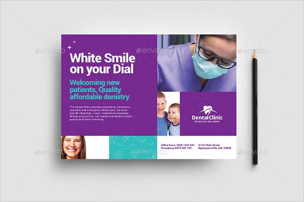 Modern Dental Clinic Flyer Template