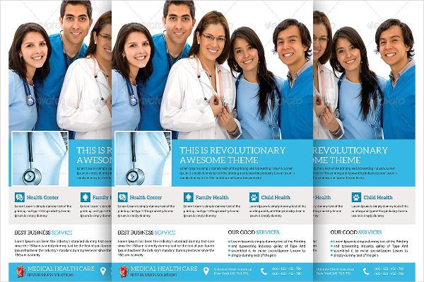 Medical & Doctor Flyer Template