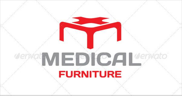 Medical Furniture Logo Template