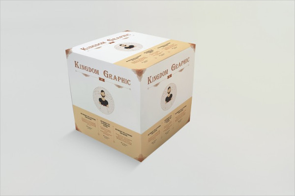 Mock-Up of Product Package Box
