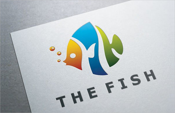 Modern Sea Pet Shop Logo Template