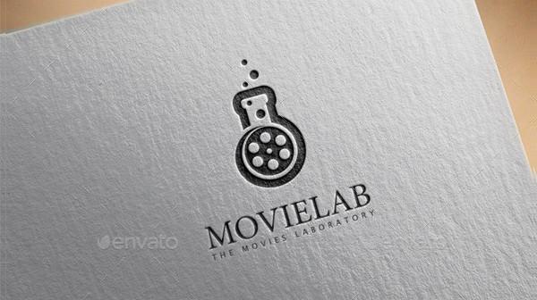 Printable Movie Lab Logo Template