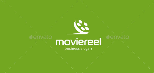 Movie Reel Logo Template