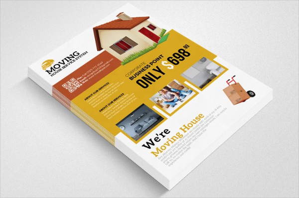 Moving House Clean Design Flyer