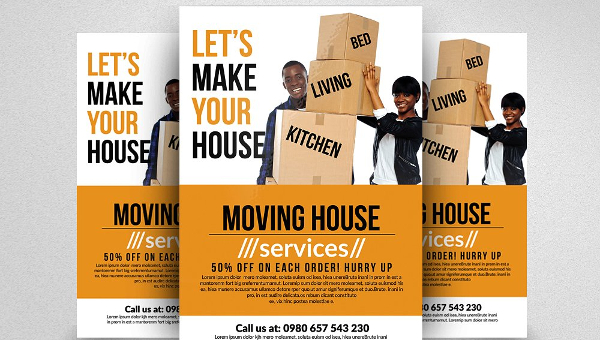29+ Moving House Flyers