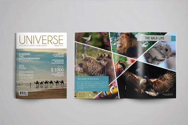 Multipurpose Universal Magazine Template