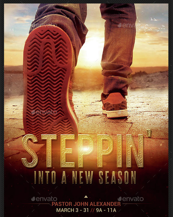 New Season Church Flyer & Poster Template