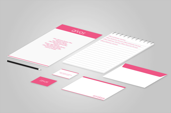 Office Stationery or Brand Identity Mockup