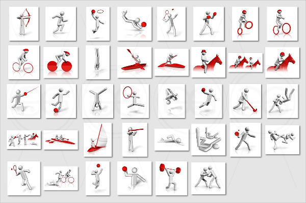 Olympic Sports Icons Pack