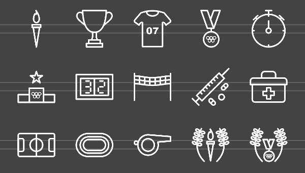Olympics Icons