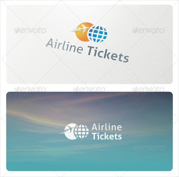 Perfect Airline Tickets Logo Design