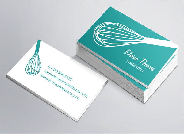 Perfect Catering Business Card Template