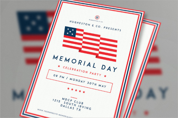 Perfect Labor Day & Memorial Day Flyer