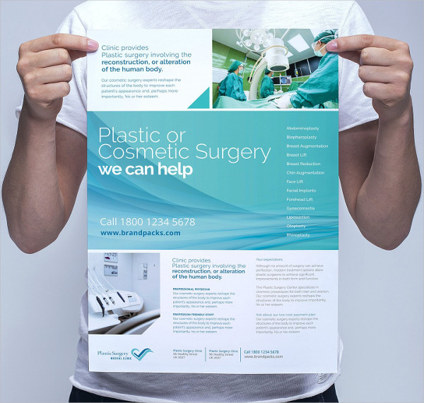 Plastic Surgery Poster Template