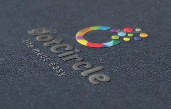 Popular Dot Circle Logo Template