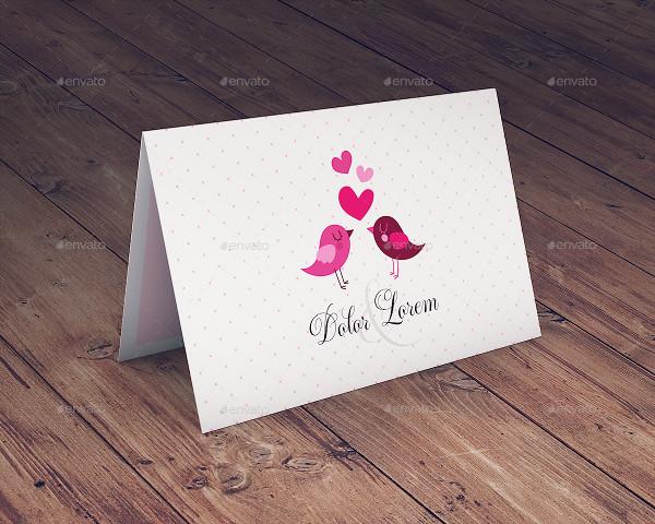Popular Greeting Card Mock-Up