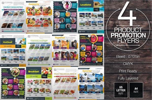 Product Promotion Flyers Bundle
