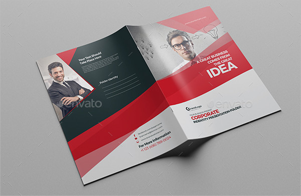 Best Presentation Folder Template Design