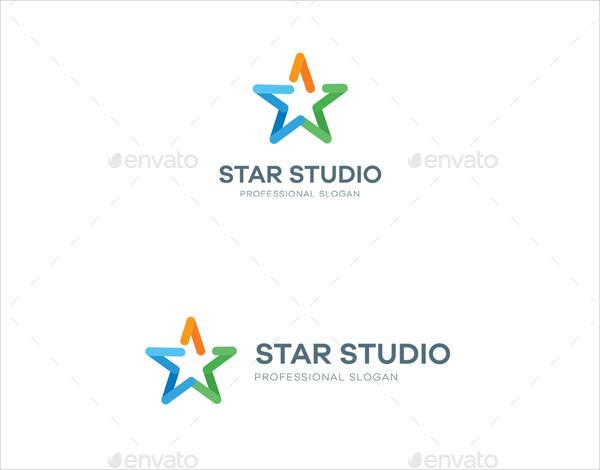 Professional Star Studio Logo Template