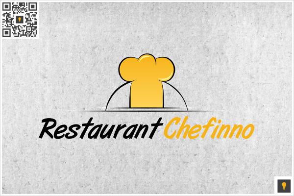 Restaurant Chefinno Logo Template
