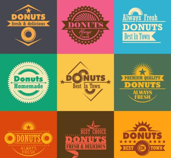 Donut Company Logos Free
