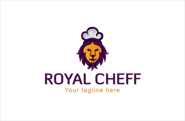 Royal Chef Gourmet Logo Design