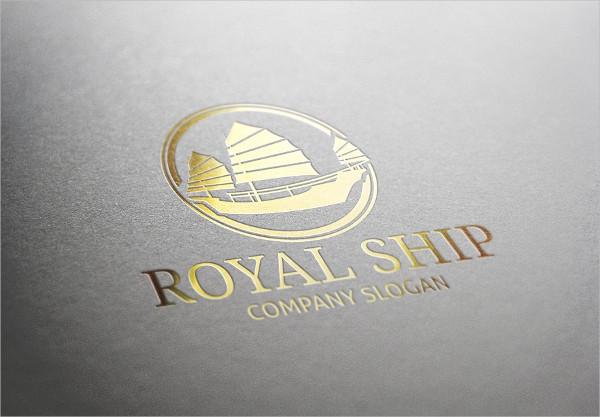 Royal Ship Logo Template