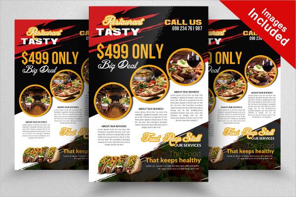29 restaurant flyer templates free premium download