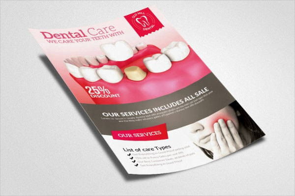 Sample Flyers for Dental Clinic