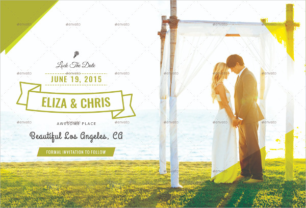 Save the Date Wedding Postcards