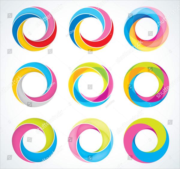 Set of Infinite Loop Logo Templates