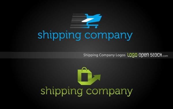 Shipping Company Logo Free Vector
