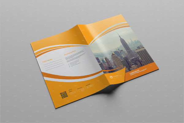 Attractive Presentation Folder Design