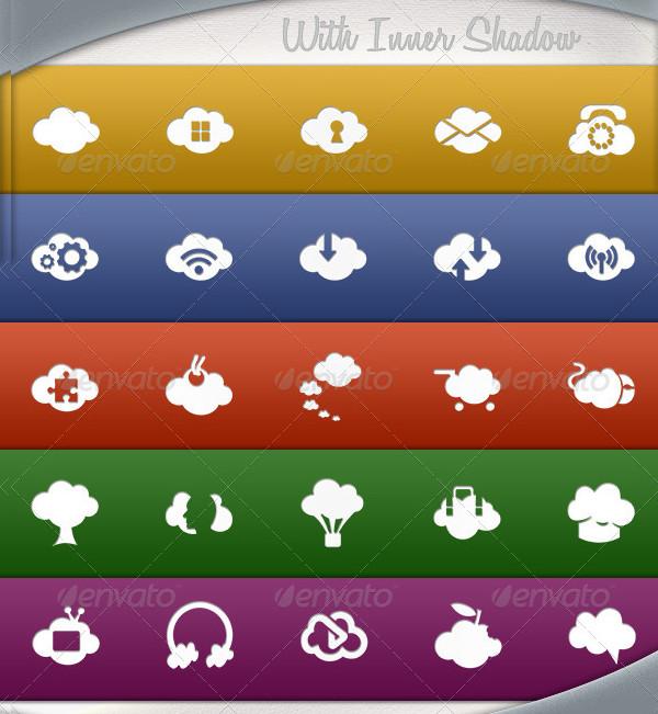 Smart Cloud Icons