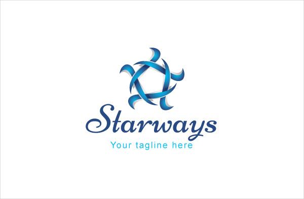 Star Ways Logo Template