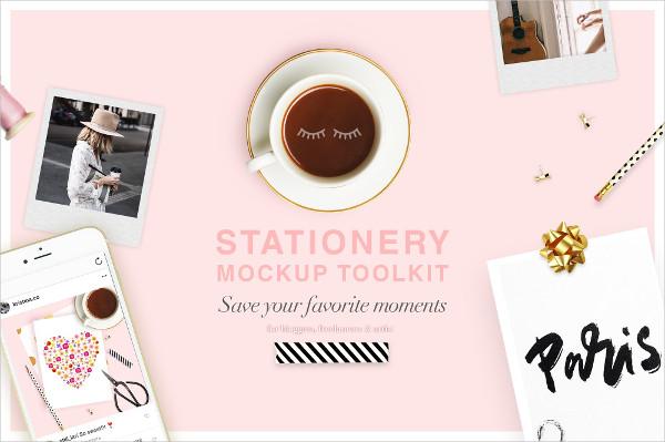 Stationery Tool Kit Mockups