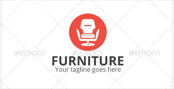 Stylish Furniture Shop Logo Design